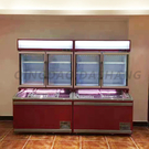 Combined upright and island freezer (A)04